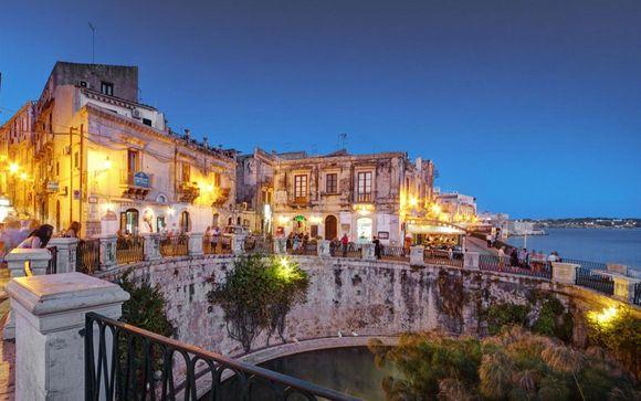 con Voyage Prive en Siracusa Italia