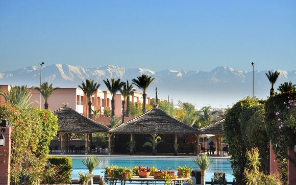 Marruecos Marrakech  Kenzi Menara Palace 5*  All Inclusive desde 90,00 €
