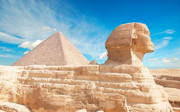 Descubre Egipto con Mena House 5*