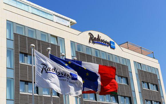 Radisson Blu Hotel, Biarritz 4*