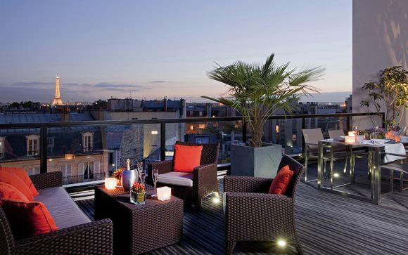 Francia París - L'Edmond Hotel 4* desde 63,00 €