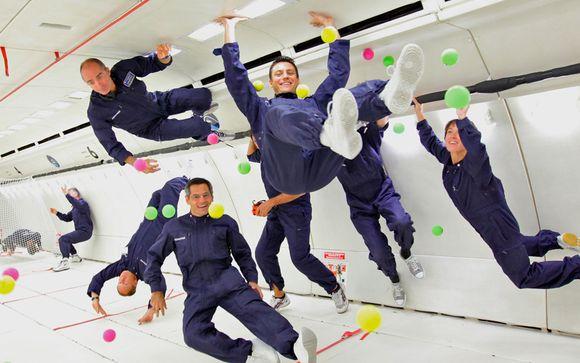 ¿Quién no ha soñado con volar en gravedad cero, flotando libremente en el aire?