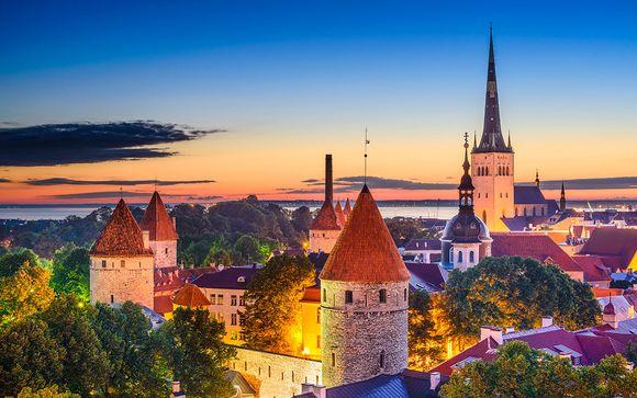 Las 4 Perlas del Baltico con 2 noches en Copenhague