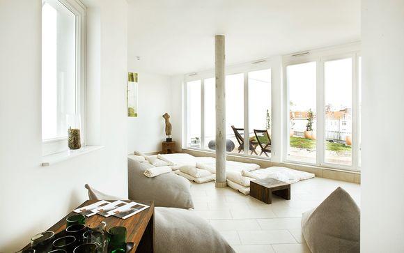 Ecohotel de diseño en Friedrichshain con spa
