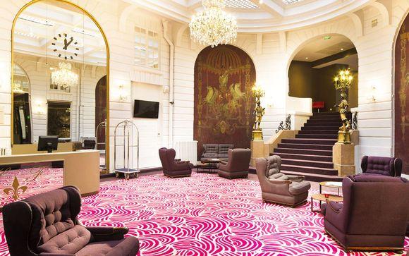 Francia Nantes - Oceania Hotel de France 4* desde 54,00 €