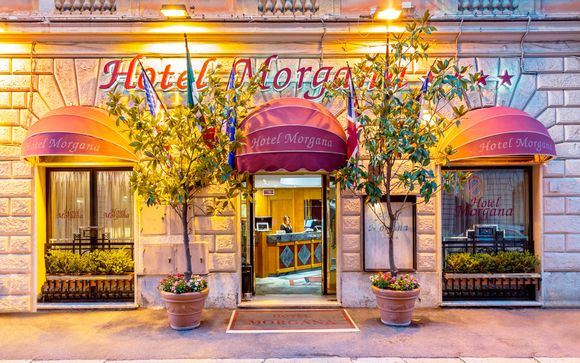 Italia Roma - Hotel Morgana 4* desde 44,00 €