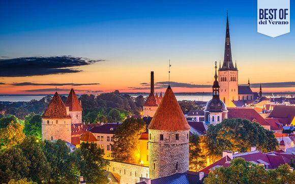 Suecia Estocolmo - Las 4 Perlas del Báltico con 1 o 3 noches en Estocolmo desde 1.055,00 €