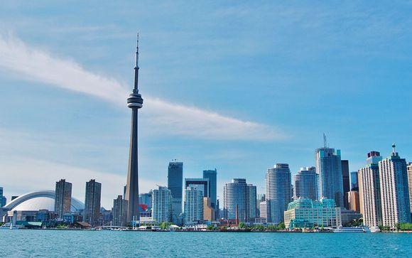 Opción 1 (solo Canadá) Itinerario - Salidas en grupo