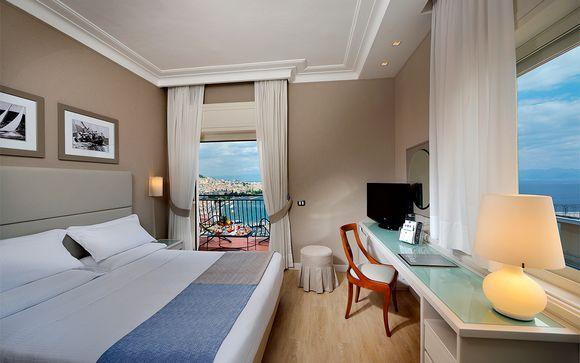 Confort y elegancia con vistas a la bahía