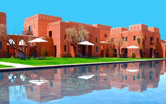 Diseño y estilo en una villa en la Ciudad Roja