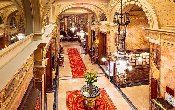 Glamuroso hotel Art Déco en habitación Privilege