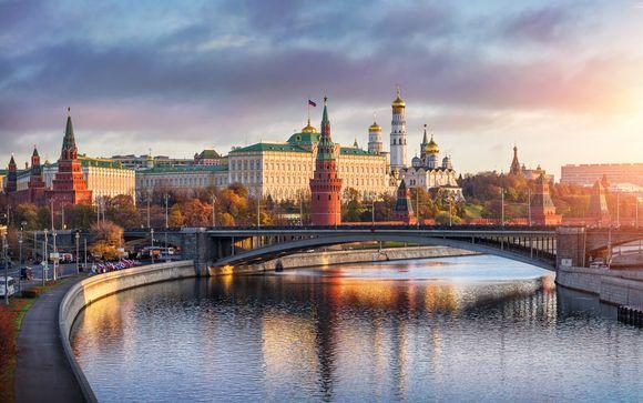 Crucero fluvial de San Petersburgo a Moscú