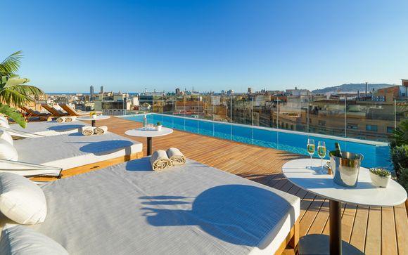 Estancia de lujo con acceso a spa junto a Passeig de Gràcia