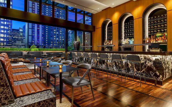 Moderno hotel junto a Times Square