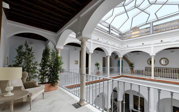 Disponible en Semana Santa: Palacio andaluz en el centro