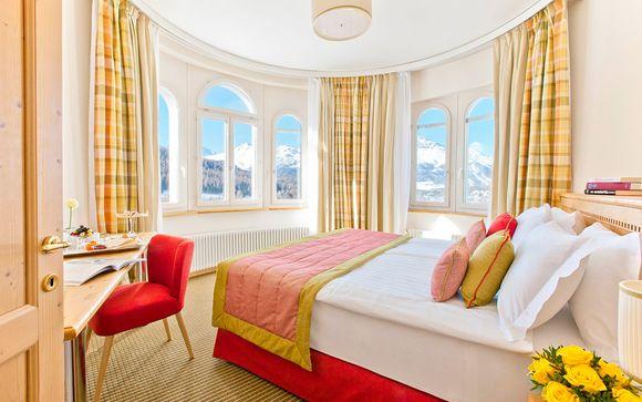 Hotel Schloss Pontresina Family & Spa 4*