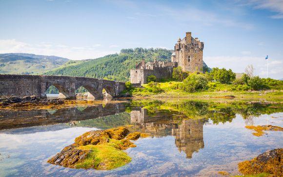 Explorando Escocia en tren