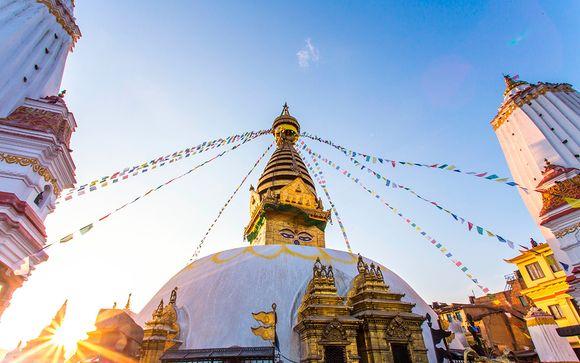 Por el valle de Katmandú
