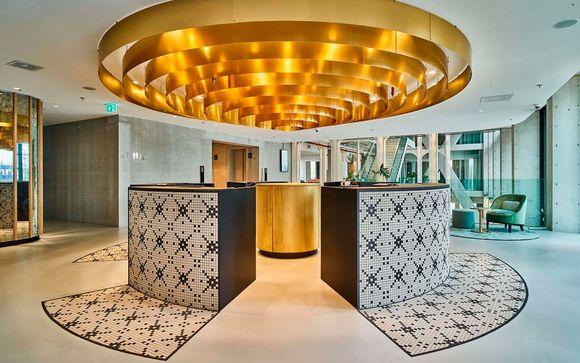Estancia en un hotel de diseño refinado y eco-friendly