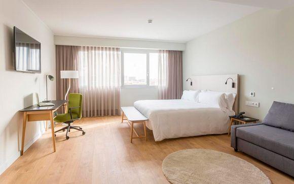 Confortable habitación en un alojamiento original
