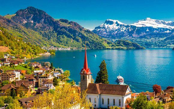 7 noches por el paraíso de los Alpes con vuelos