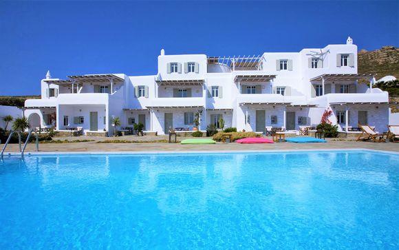 Vacaciones al más puro estilo griego con vistas al mar