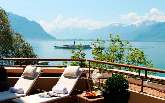 Suiza Ginebra - Royal Plaza Montreux & Spa 5* desde 103,00 €