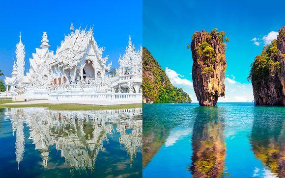Bangkok, Triángulo de Oro y playas de Phuket