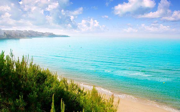 Pensión completa en la playa