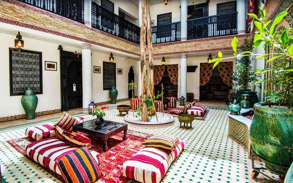 Elegancia, exotismo y lujo junto a la Medina