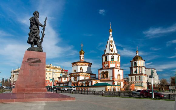 Opción 1: Itinerario desde Moscú (14 noches)