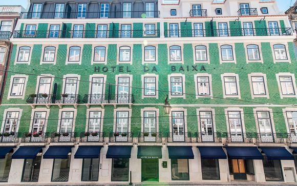 Hotel da Baixa 4*
