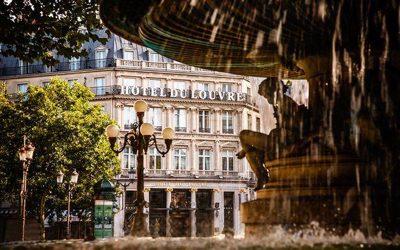 El Hotel du Louvre le abre sus puertas