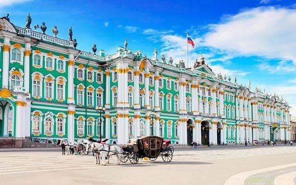 Rusia San Petersburgo - San Petersburgo imperial en 4* desde 246,00 €