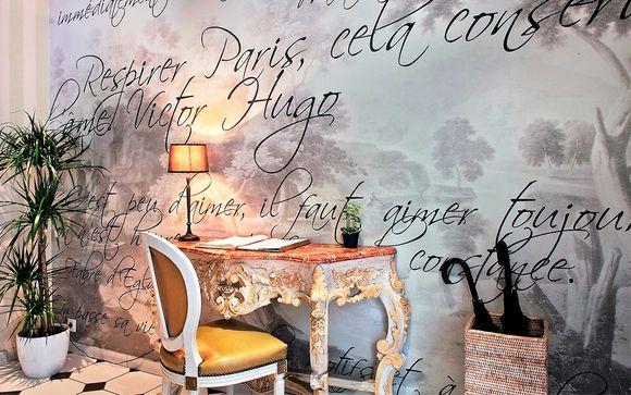 Ambiente refinado con romántico crucero por el Sena