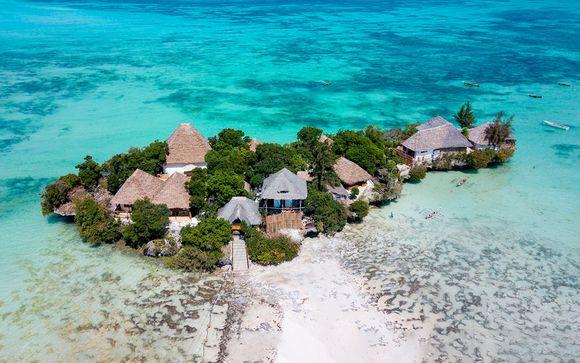 Colección de lujo: El paraíso en una isla privada con vuelos