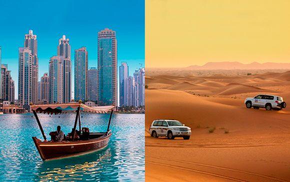 Fantástica estancia con safari por el desierto, crucero y más