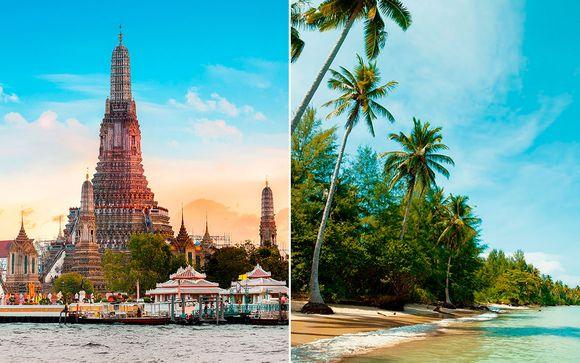 Hotel Furama Silom 4* y Waters Khao Lak 4*