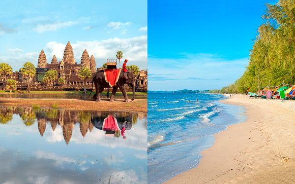 Camboya al completo con playa de Sihanoukville