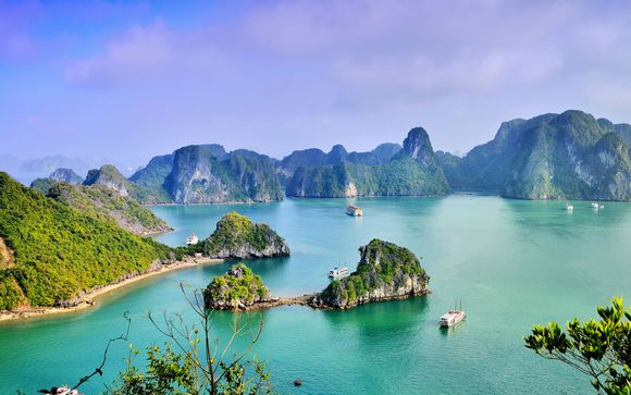 Thien Thai Hotel 4*, Crucero Bahía de Halong y Melia Danang 4*