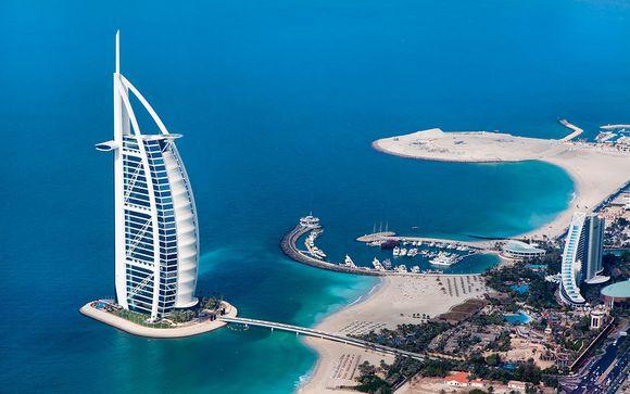 Opción 2: Dubái e Isla Mauricio