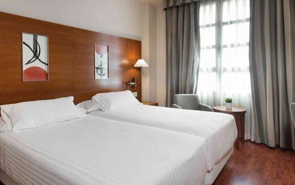 Hoteles 4* previstos o similares