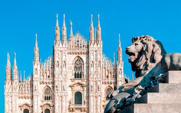 Vacaciones de desconexión en la capital de Lombardía