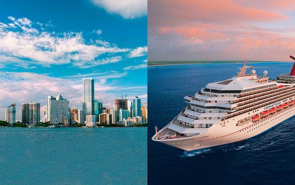 Exquisita estancia en South Beach y crucero por el paraíso
