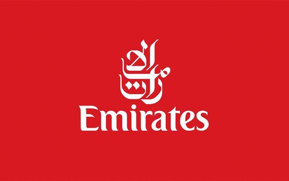 Emirates Airline, compañía preferente en Voyage Privé