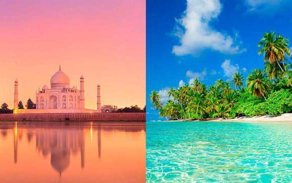 India Delhi - Las Perlas de la India con Maldivas desde 2.456,00 €