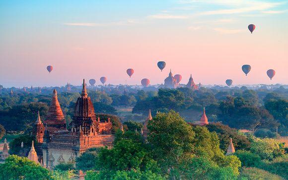 Tour privado en Myanmar con opción a Bangkok