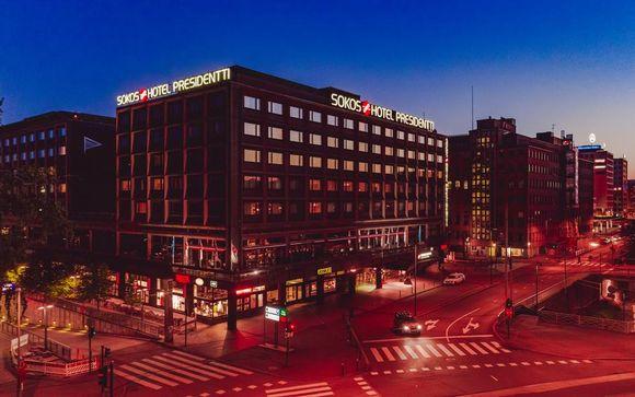 Original Sokos Hotel Presidentti 4* opcional