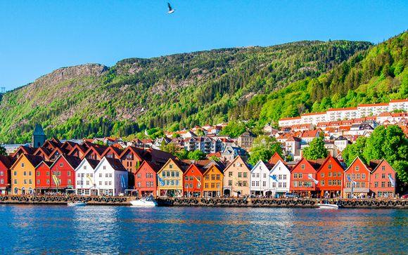 Todo el encanto escandinavo desde Oslo a los Fiordos