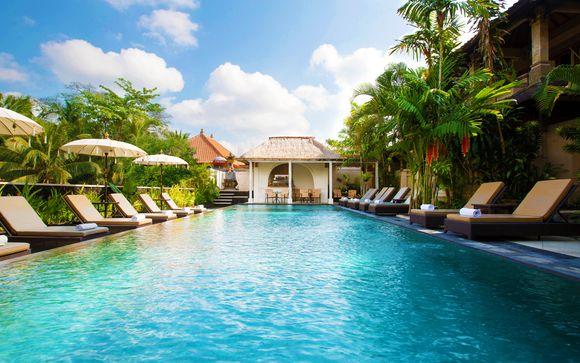 Indonesia Ubud - The Ubud Village Hotel y Meliá Bali 5* desde 994,00 €